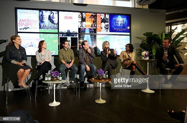 Vanity Fair Executive West Coast Editor Krista Smith Producer Jennifer Todd Host of Fandango's original series Frontrunners Weekend Ticket Dave...
