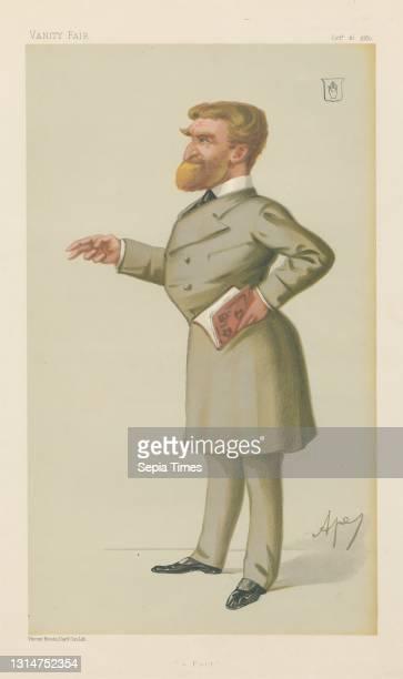 Literary; 'A Poet', Sir John G. J. Sinclair, October 16 Carlo Pellegrini, 1839–1889, Italian Chromolithograph.