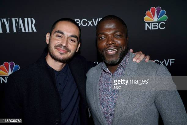 EVENTS NBC Vanity Fair Primetime Party Pictured Manny Montana Reno Wilson Good Girls at The Henry in Los Angeles CA on November 11 2019