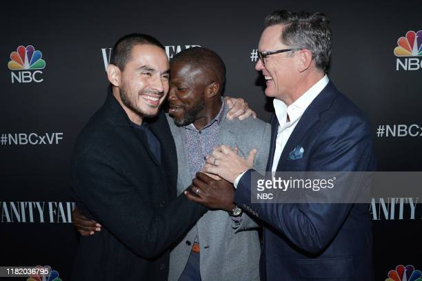 EVENTS NBC Vanity Fair Primetime Party Pictured Manny Montana Reno Wilson Matthew Lillard Good Girls at The Henry in Los Angeles CA on November 11...