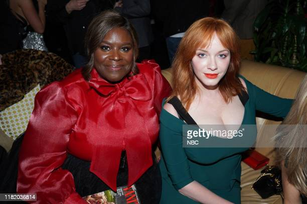 "Vanity Fair Primetime Party"" -- Pictured: Retta, Christina Hendricks, ""Good Girl"" at The Henry in Los Angeles, CA on November 11, 2019 --"