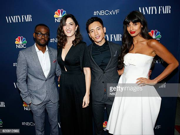 EVENTS 'NBC Vanity Fair Toast the 20162017 TV Season' at NeueHouse Hollywood in Los Angeles on Wednesday November 2 2016 Pictured D'Arcy Carden Manny...