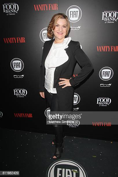 Vanity Fair West Coast editor Krista Smith attends Vanity Fair and FIAT Toast To Young Hollywood at Chateau Marmont on February 23 2016 in Los...