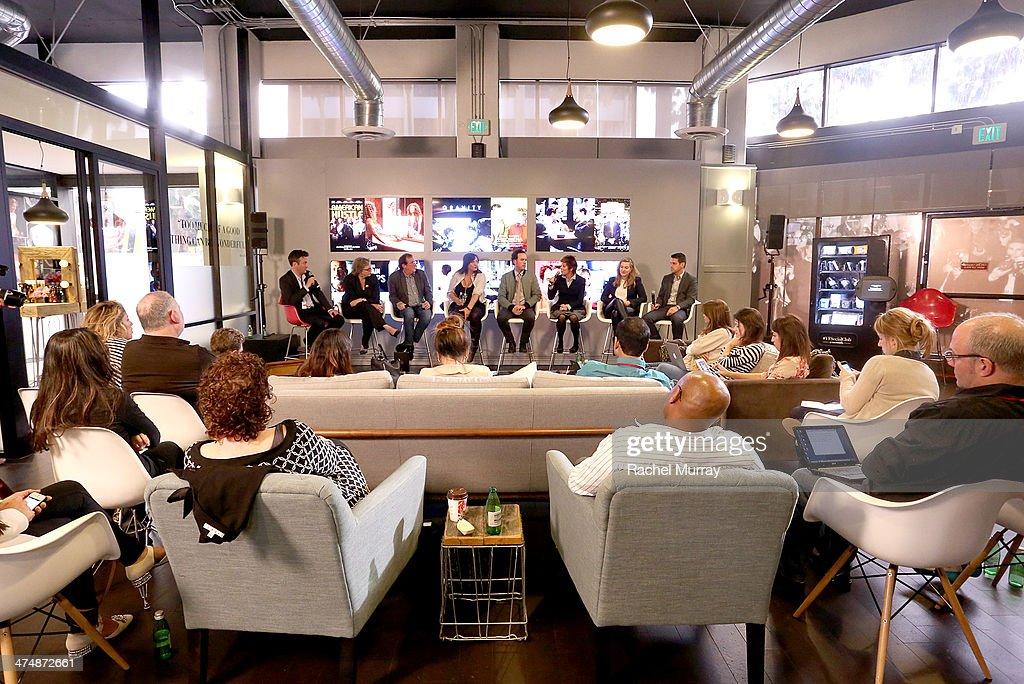 Vanity Fair Social Club - Chrysler's Oscar Predictions Hosted By VF's Mike Hogan : News Photo