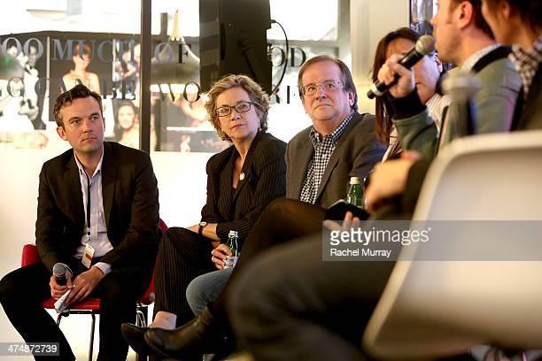 Vanity Fair's Digital Director Mike Hogan IndieWIRE Anne Thompson Deadline's Peter Hammond Founder/Editor AwardsDaily Sasha Stone and Vulture Senior...