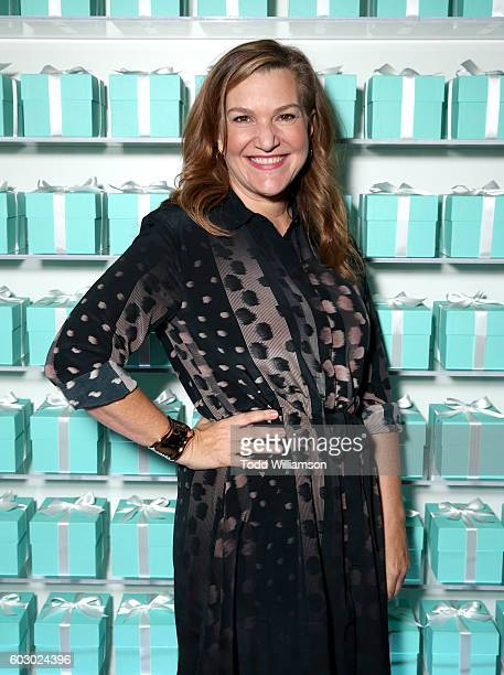 Vanity Fair's executive west coast editor Krista Smith attends the Vanity Fair and Tiffany Co private dinner toasting Lupita Nyong'o and celebrating...