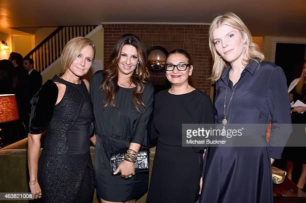 Vanity Fair's Jennifer Parker Barneys NY EVP Marketing and Communications Charlotte Blechman Vanity Fair Associate Publisher Intergrated...