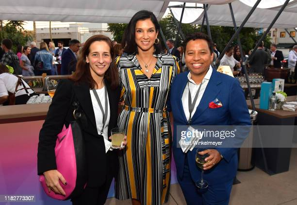 Vanity Fair's Kira Pollack Vanity Fair EditorinChief Radhika Jones and EditorinChief of HuffPost Lydia Polgreen attend Vanity Fair's 6th Annual New...