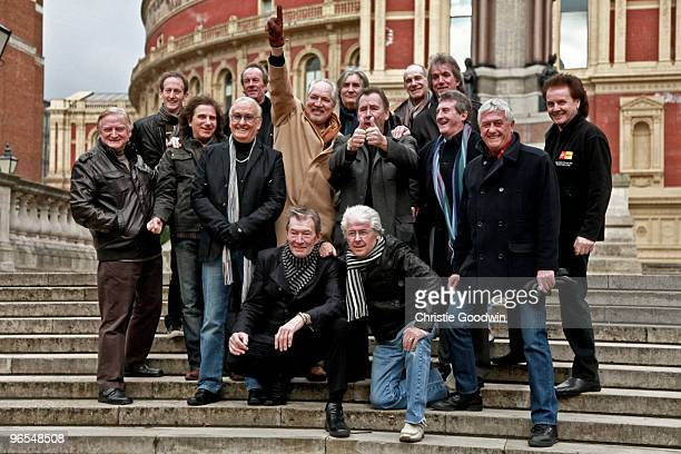 Vanity Fare Brian Poole Peter Sarstedt The Troggs The Swinging Blue Jeans Dave Berry and Mike Pender attend a photocall launching The Solid Silver...