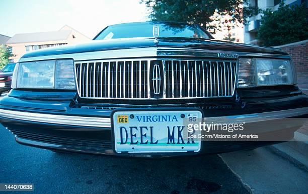 Vanity License Plate Virginia