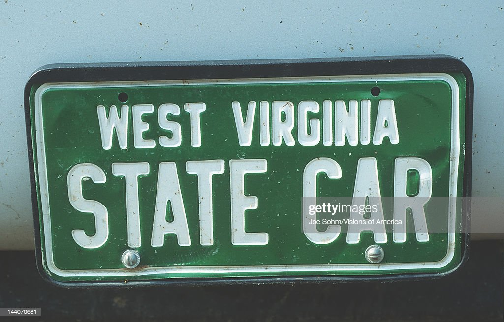 Vanity License Plate West Virginia & Virginia License Plate Stock Photos and Pictures | Getty Images