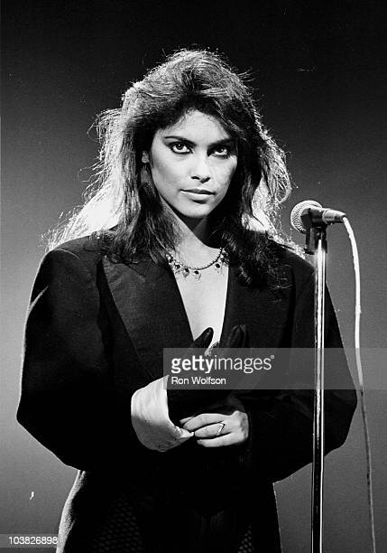 Vanity now known as Denise Matthews performs with the group Vanity 6 on the TV Show 'Solid Gold'