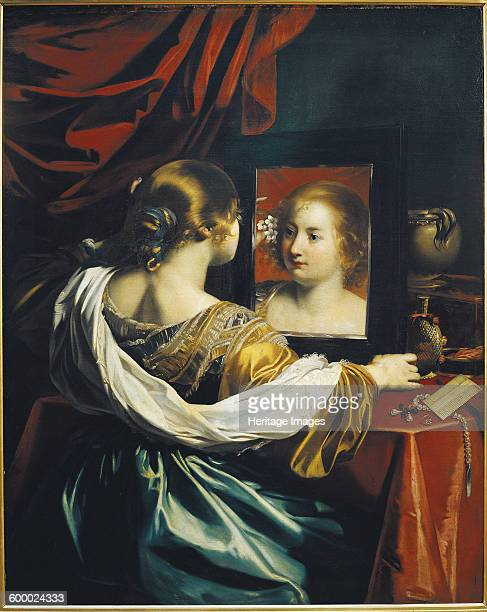 Vanity or Young woman at her toilet c 1626 Found in the collection of Musée des BeauxArts Lyon Artist Renieri Niccolo