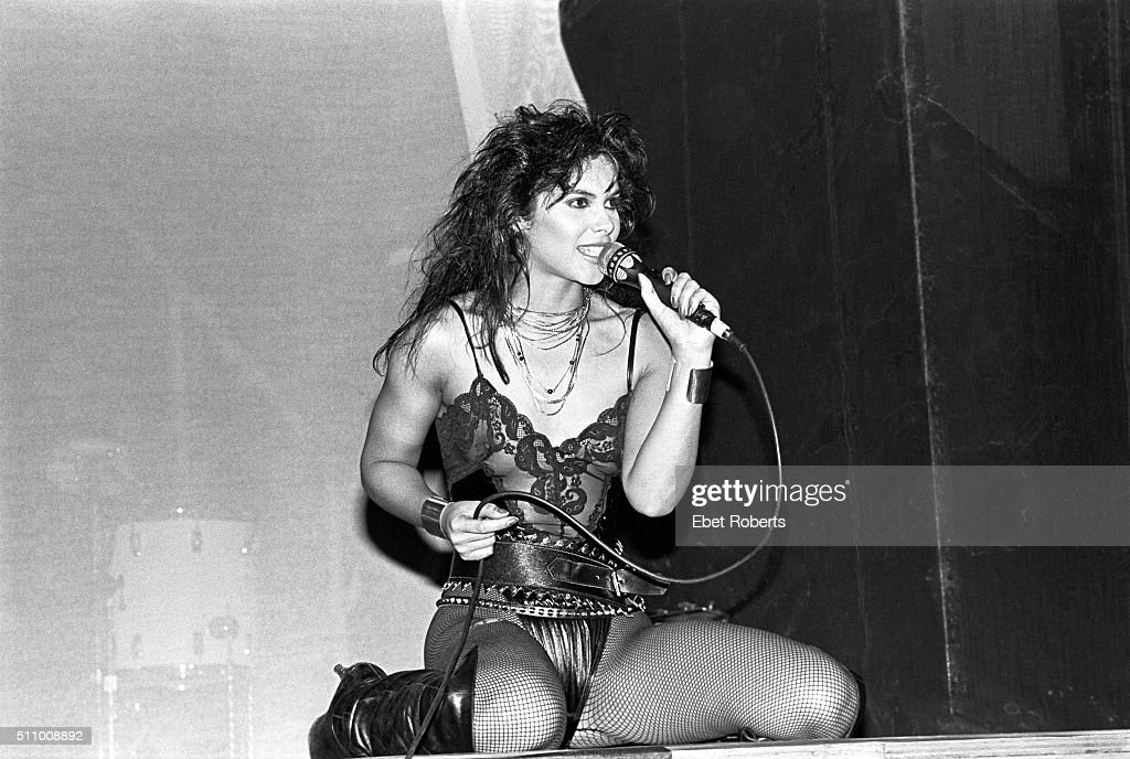 Vanity (Denise Matthews) Performing With Vanity 6 At Radio City Music Hall  In New
