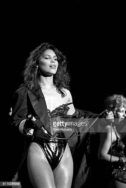 Vanity performing with Vanity 6 at The Ritz in New York City on October 25 1982