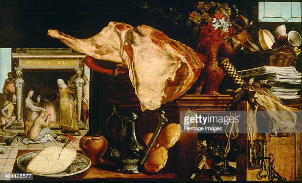 Vanity Still Life 1552 Found in the collection of the Art History Museum Vienne