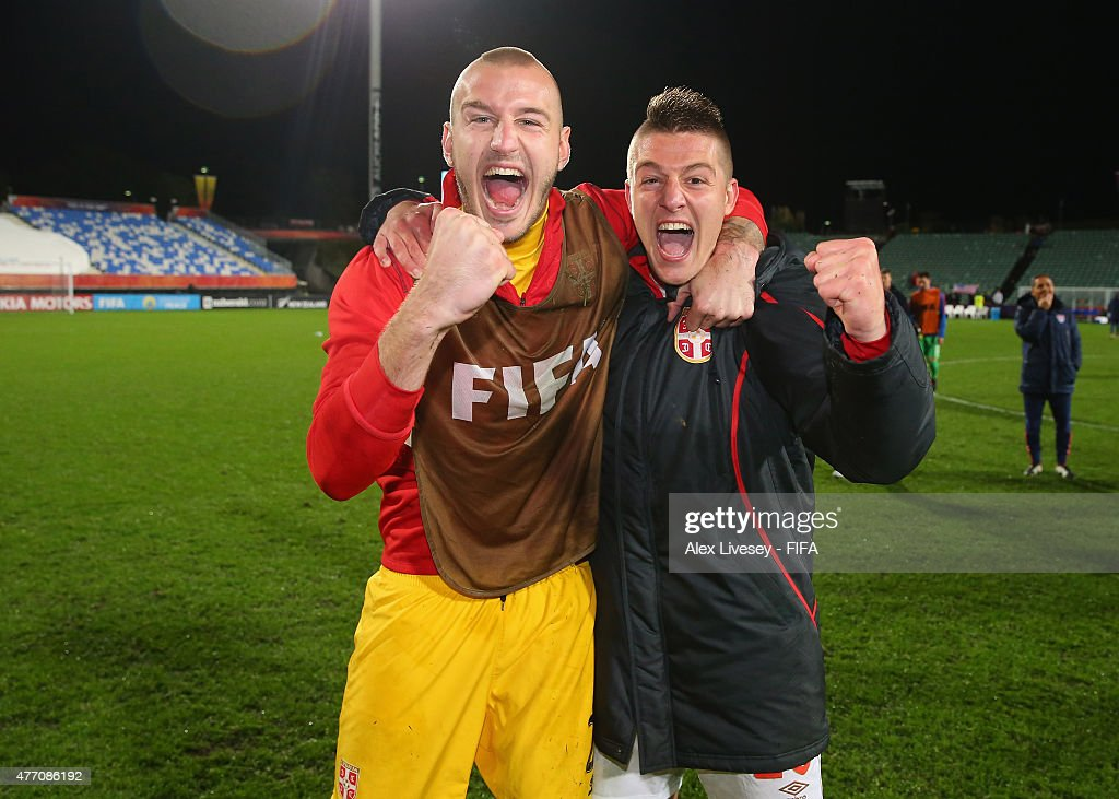 USA v Serbia: Quarter Final - FIFA U-20 World Cup New Zealand 2015 : ニュース写真