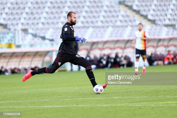 Vanja Milinkovic-Savic of Torino FC in action during the Coppa Italia match between Torino Fc and Us Lecce. Torino Fc wins 3-1 over Us Lecce.