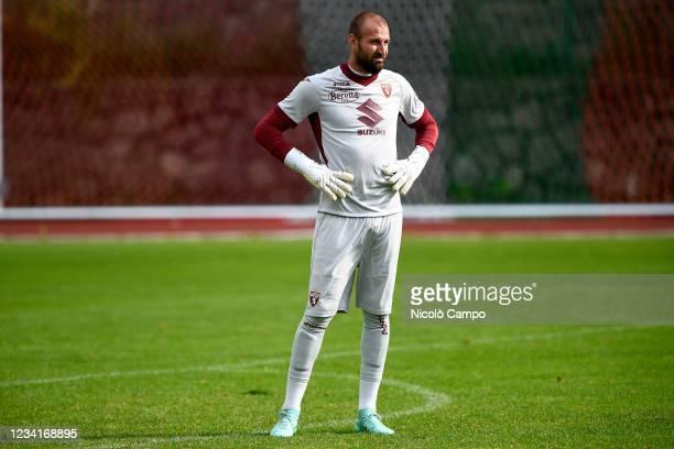 Vanja Milinkovic-Savic of Torino FC looks on during the pre-season friendly football match between Torino FC and SSV Brixen. Torino FC won 5-1 over...