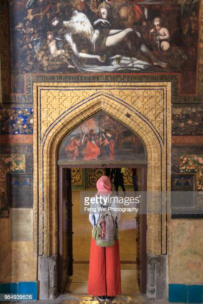 vank cathedral, isfahan, iran - genocidio armenio imagens e fotografias de stock
