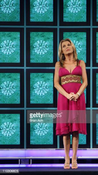 Vanna White at the taping of the 'Wheel of Fortune' 25th Anniversary People Magazine Celebrity Week on September 29 at Radio City Music Hall in New...
