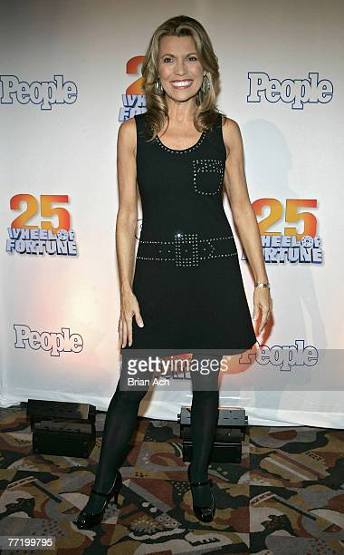 Vanna White at the 'Wheel of Fortune' 25th Anniversary Party Sponsored by People Magazine on September 27 2007 at Radio City Music Hall in New York...