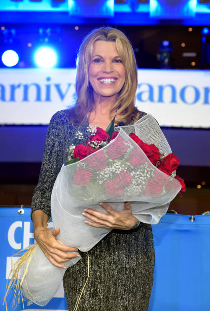 CA: Unveiling Of New Carnival Cruise Ship Panaorama With Vanna White