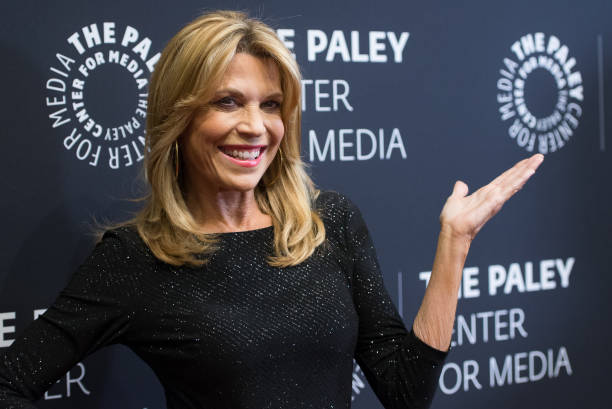 Vanna White attends The Paley Center For Media Presents: Wheel Of Fortune: 35 Years As America's Game at The Paley Center for Media on November 15,...