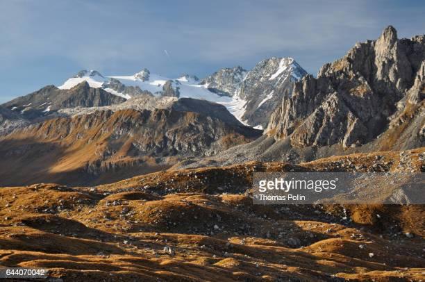 Vanoise massif rocky summits