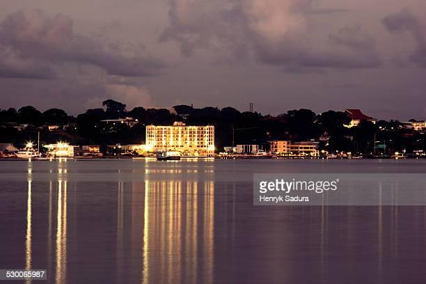 vanuatu, port vila, parliament of vanuatu - vanuatu stock photos and pictures