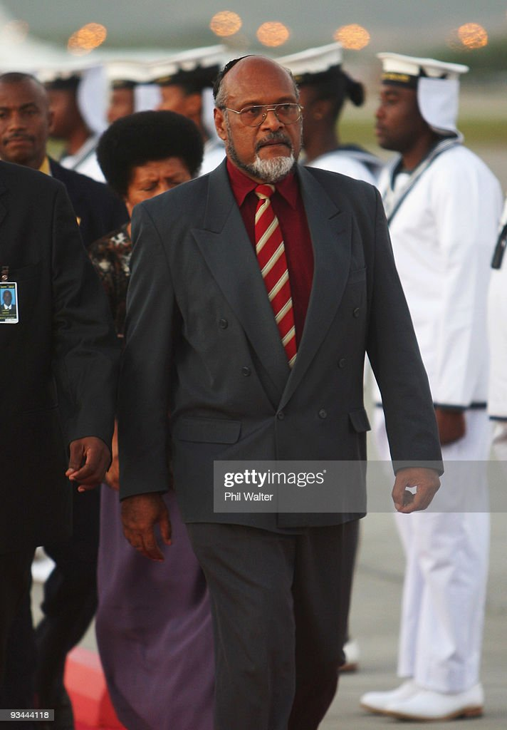 World Leaders Arrive Ahead Of Commonwealth Heads Of Government Meeting : News Photo