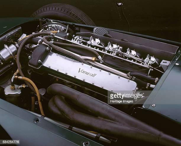 Vanwall engine bay 2000