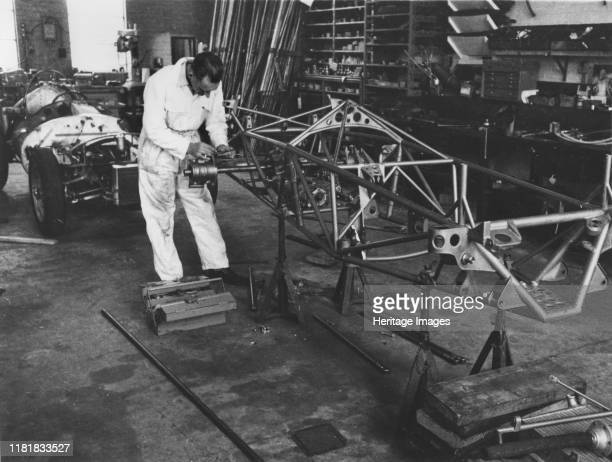 Vanwall factory in Maidenhead. Creator: Unknown.