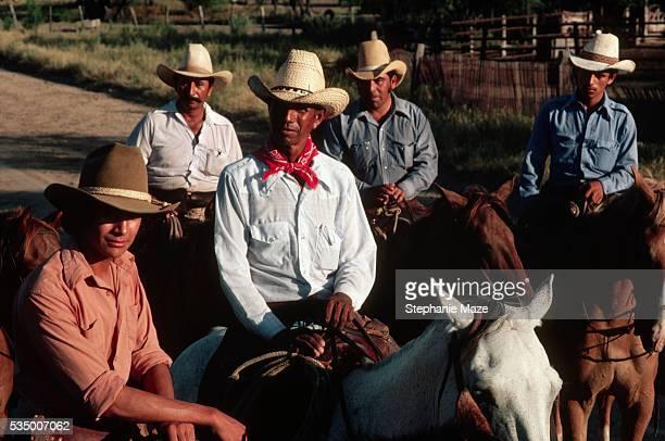 Vaqueros on Horses