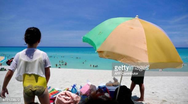Varadero beach Matanzas province Cuba on August 14 2010 AFP PHOTO/ADALBERTO ROQUE / AFP PHOTO / Adalberto ROQUE