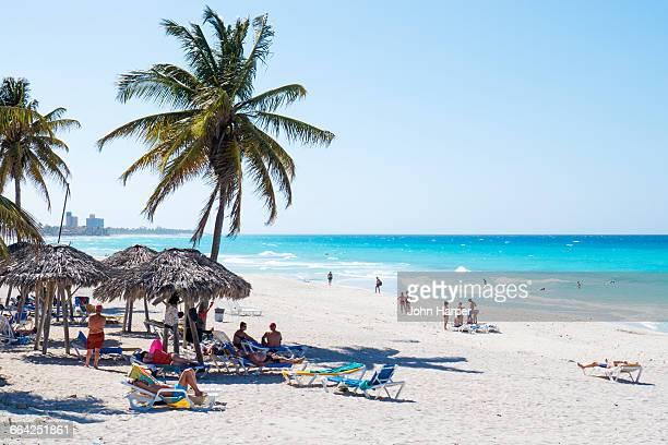 varadero beach, varadero, cuba - varadero beach stock pictures, royalty-free photos & images