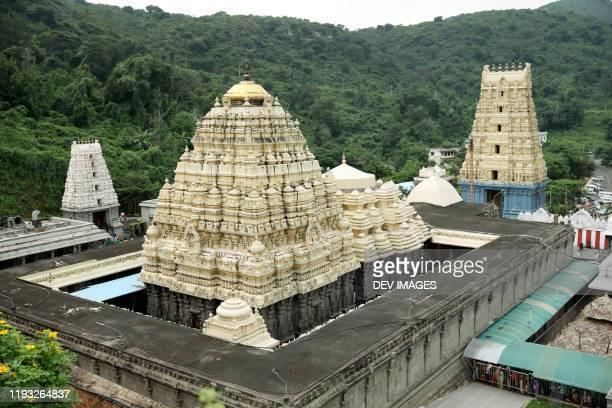 varaha lakshmi narasimha temple, simhachalam,visakhapatnam,india - アンドラプラデシュ州 ストックフォトと画像