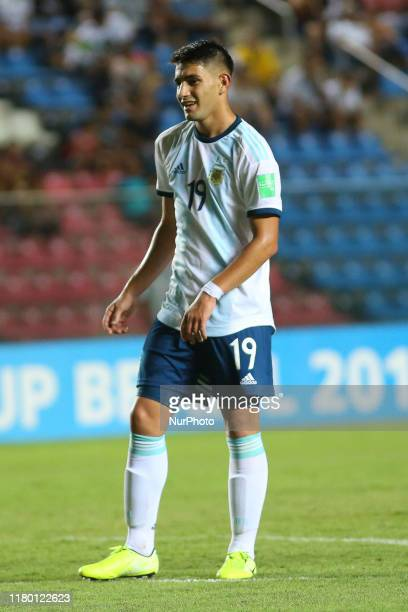 Varaldo of Argentina during the FIFA U17 World Cup Brazil 2019 Group E match between Argentina and Tajikistan at Estadio Kleber Andrade on November...