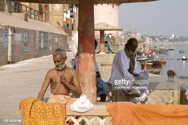 Varanasi, Banares or Kashi, India's holiest city, one of the oldest living cities (1800 BCE) in the world