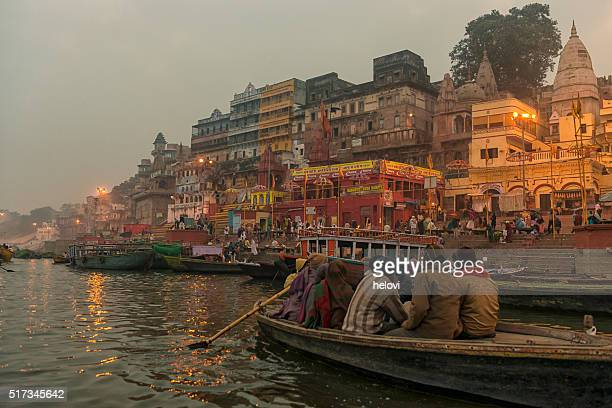 varanasi burning grounds at night - ceremony stock pictures, royalty-free photos & images