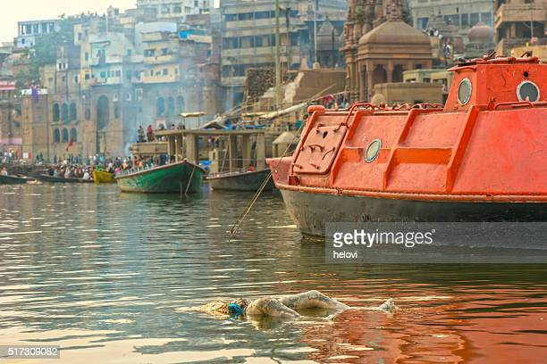 Varanasi burning grounds