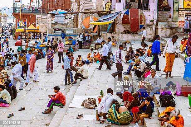 varanasi ghat - uttar pradesh stock pictures, royalty-free photos & images