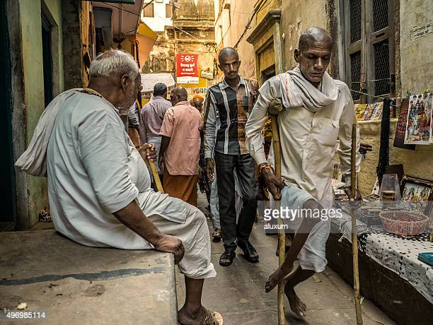 varanasi india - polio virus stock pictures, royalty-free photos & images