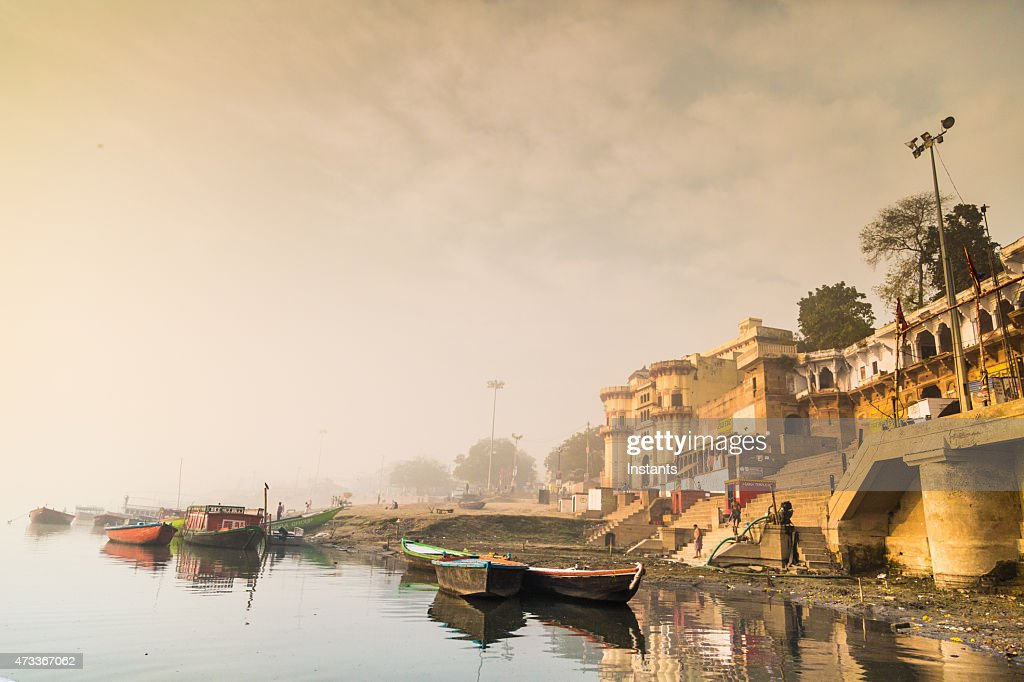 Varanasi Morning : Stock Photo
