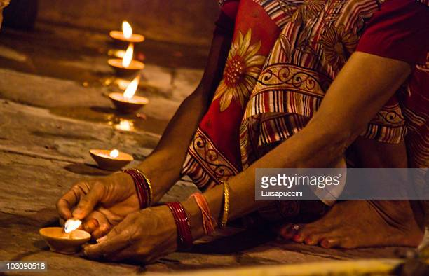 Varanasi, night puja