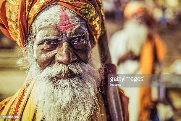 varanasi sadhu - religious occupation stock pictures, royalty-free photos & images
