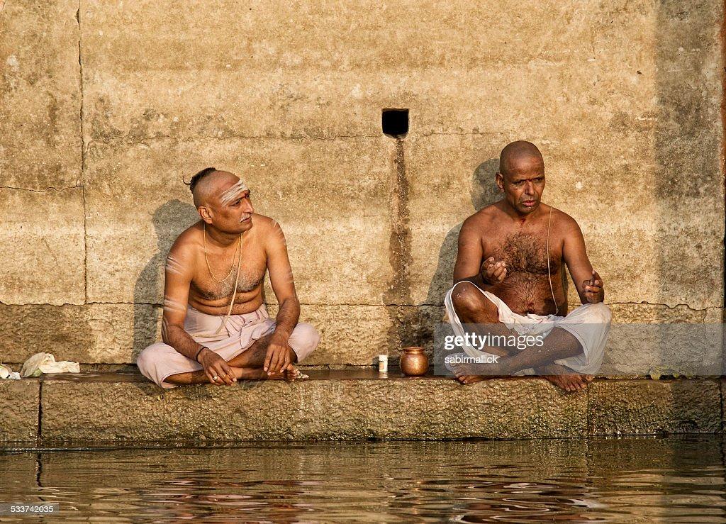 Varanasi_ganga_lifestyle : Foto stock