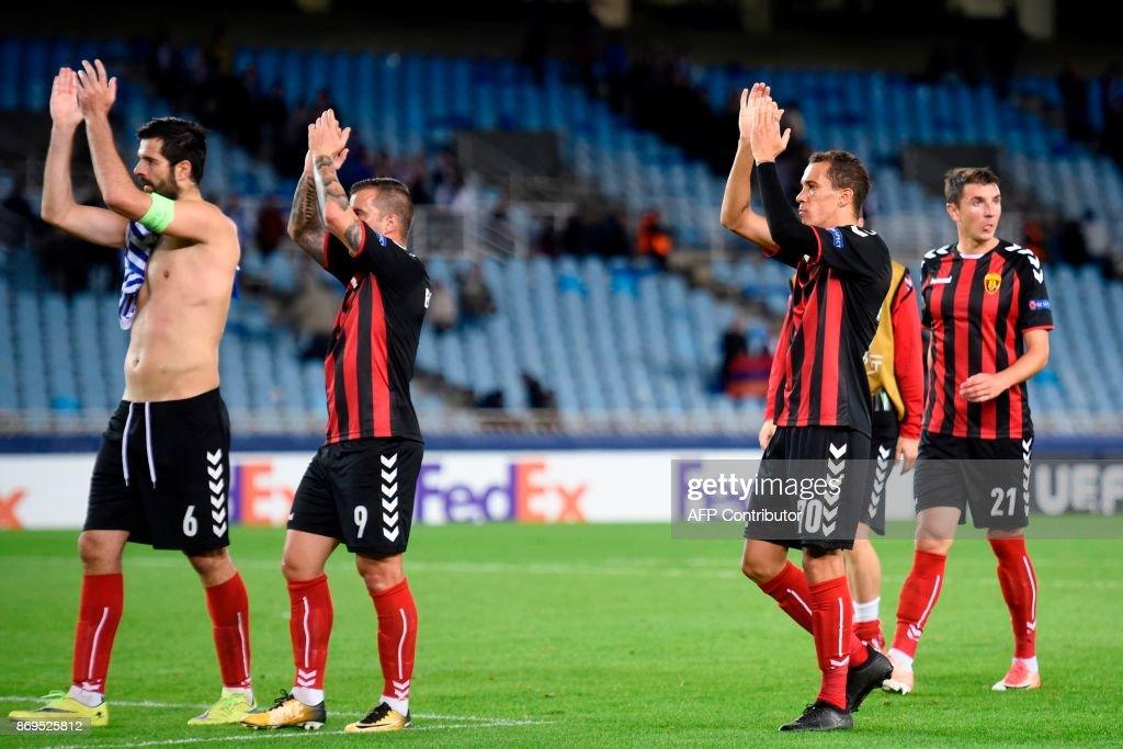 Real Sociedad v Vardar Skopje ...