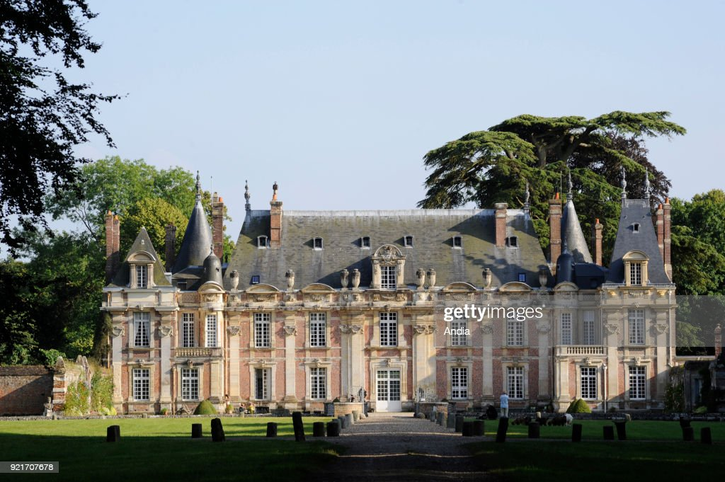 Castle 'chateau de Miromesnil'. : News Photo