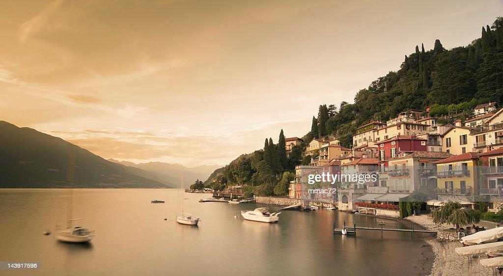 Varenna, Lago di Como : Stock Photo